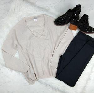 Anthropologie Hoss Intropia Merino Wool Sweater